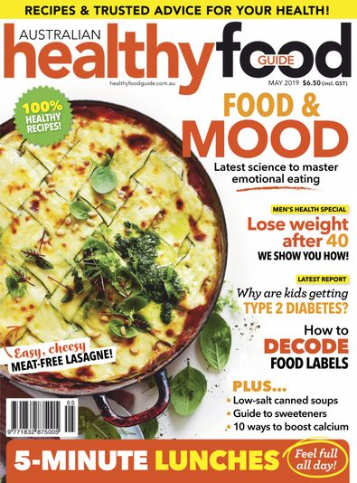 Healthy Food Guide digital cover