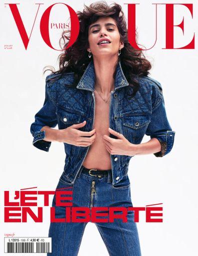 Vogue Paris digital cover