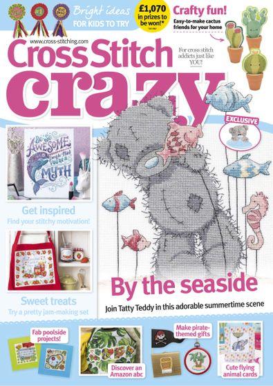 Cross Stitch Crazy digital cover