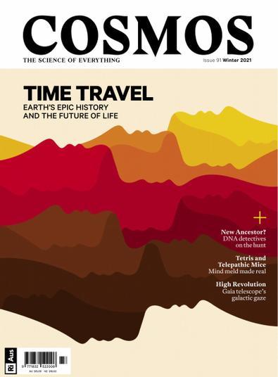 Cosmos Magazine digital cover