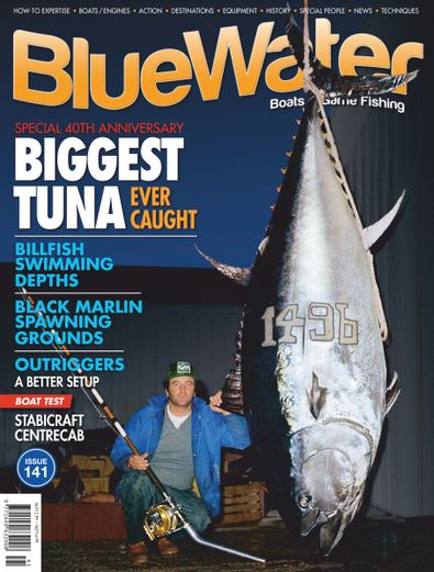 BlueWater Boats & Sportsfishing digital cover