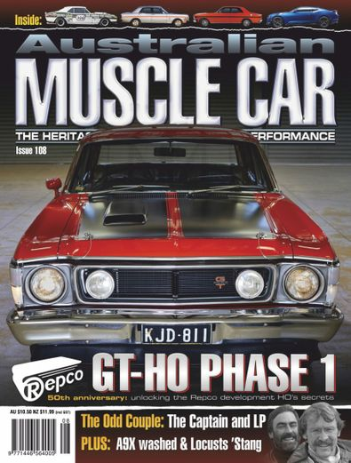 Australian Muscle Car digital cover