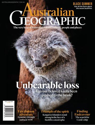 Australian Geographic digital cover