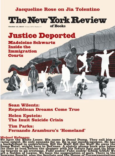 New York Review of Books digital cover