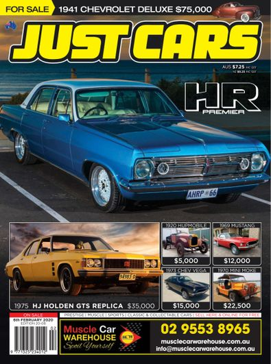 Just Cars digital cover