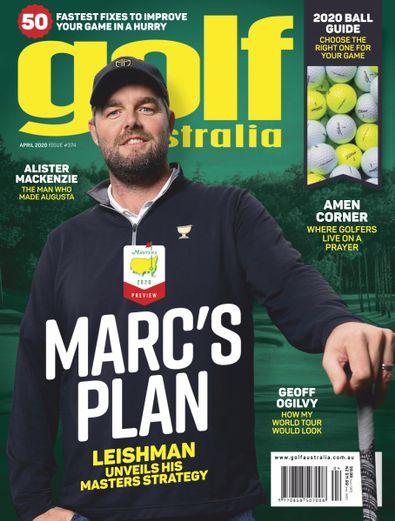 Golf Australia digital cover