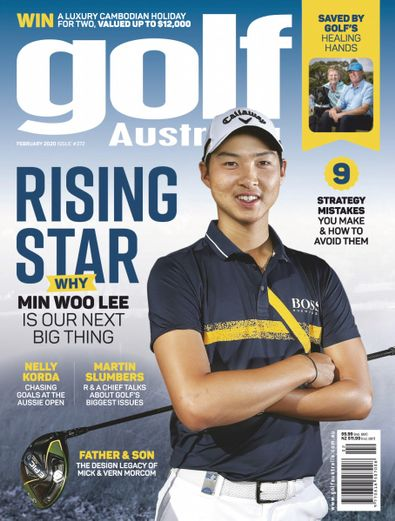 Golf Australia digital cover