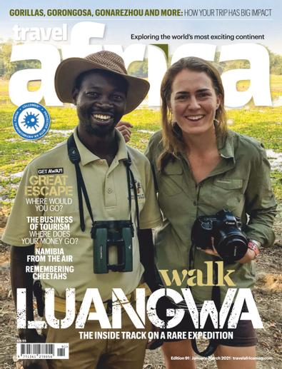 Travel Africa digital cover