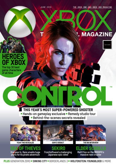 Official Xbox Magazine digital cover