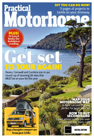 Practical Motorhome digital cover