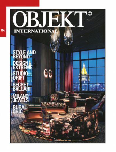 OBJEKT International digital cover