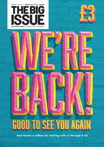 The Big Issue digital cover
