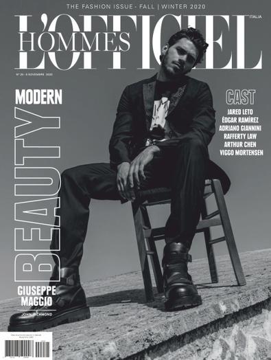 L'Officiel Hommes Italia digital cover
