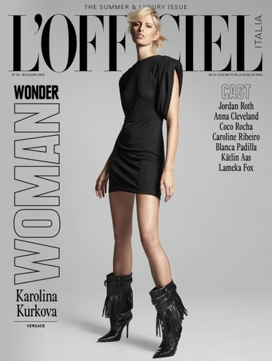 L'Officiel Italia digital cover