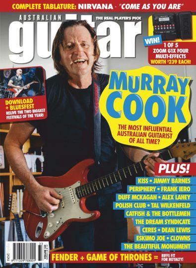 Australian Guitar digital cover