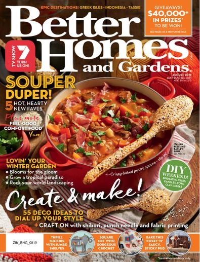 Better Homes and Gardens Australia digital cover