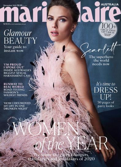 Marie Claire Australia digital cover
