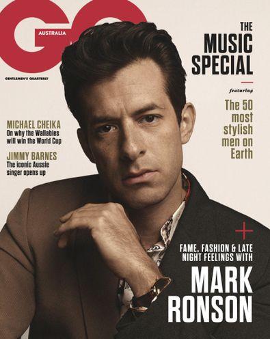 GQ Australia digital cover
