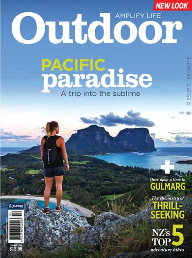 Australian Geographic Outdoor Magazine digital cover