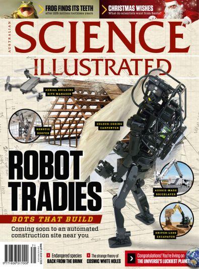 Science Illustrated Australia digital cover