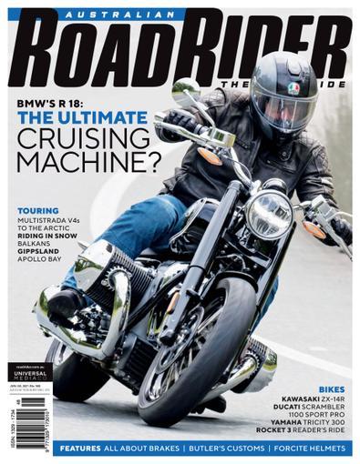 Australian Road Rider digital cover