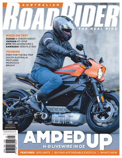 Australian Road Rider digital cover