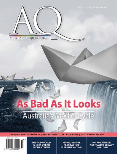 AQ: Australian Quarterly digital cover