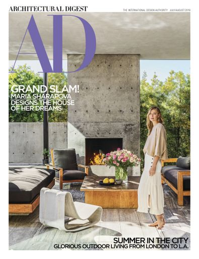 Architectural Digest digital cover