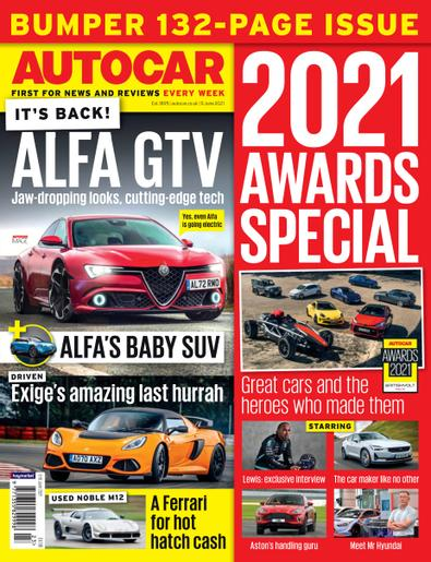 Autocar digital cover