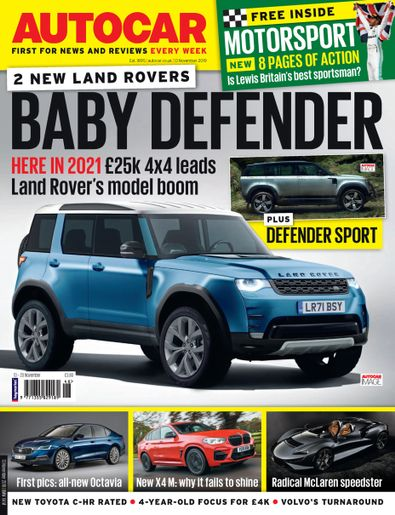 Autocar digital cover