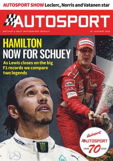 Autosport digital cover
