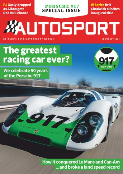 Autosport digital cover