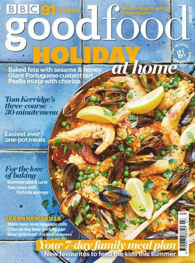 BBC Good Food Magazine digital cover