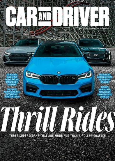 Car and Driver digital cover