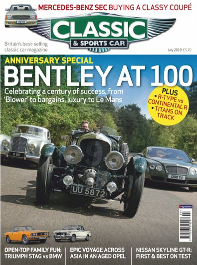 Classic Sports Car Digital Subscription Isubscribe