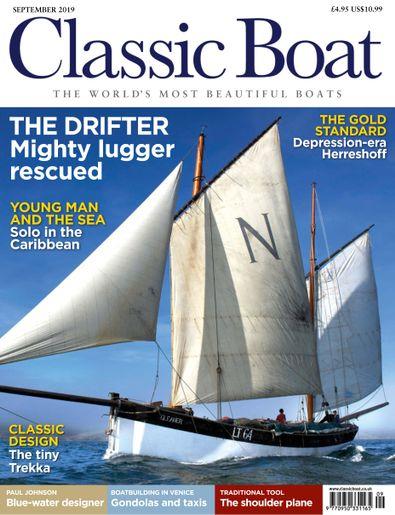 Classic Boat digital cover