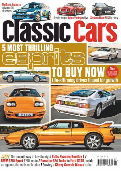 Classic Cars digital cover