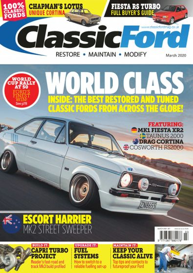 Classic Ford digital cover