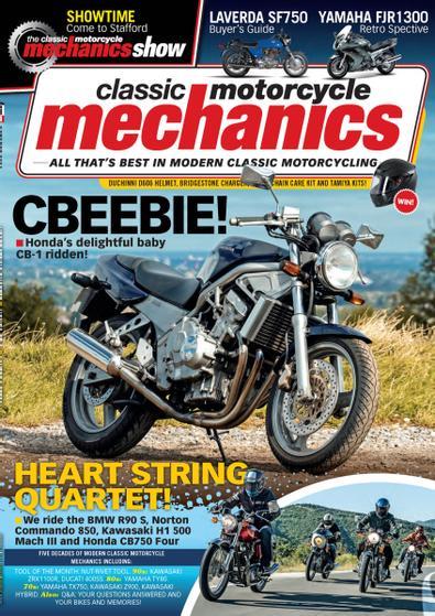 Classic Motorcycle Mechanics digital cover