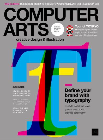 Computer Arts digital cover