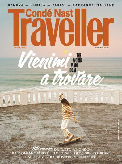 Condé Nast Traveller Italia digital cover