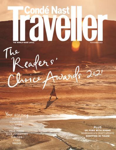 Conde Nast Traveller UK digital cover