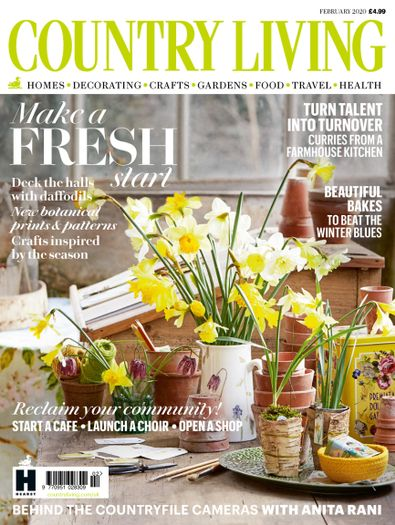 Country Living UK digital cover