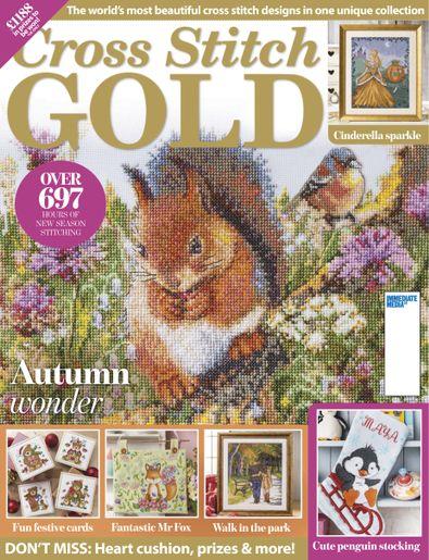 Cross Stitch Gold digital cover