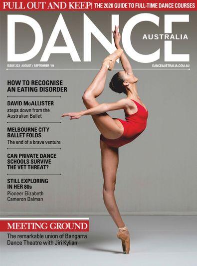 Dance Australia digital cover