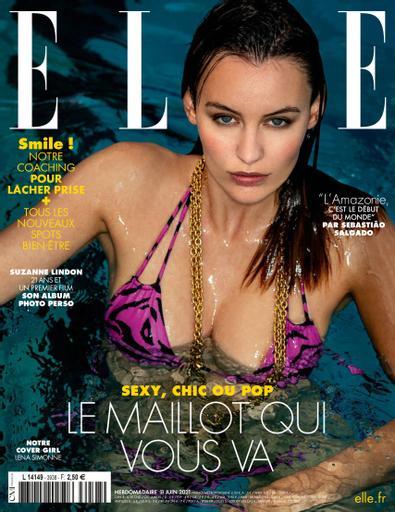 ELLE France digital cover