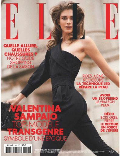 ELLE France digital cover