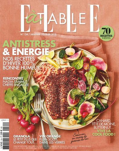 ELLE à Table digital cover
