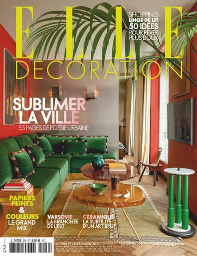 ELLE Décoration France digital cover