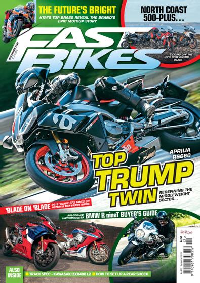 Fast Bikes digital cover
